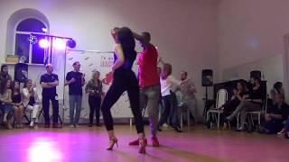 Профи финал, первая часть. V открытый чемпионат Пензенской области по Бачате 2017
