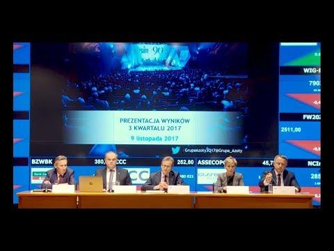 Grupa Azoty - Prezentacja wyników za III kwartał 2017 roku - zdjęcie
