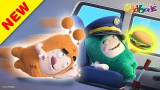 Oddbods   New   TRAVEL TROUBLES   Funny Cartoons For Kids