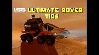 Ultimate Rover Building Tips & Tricks Ft Hammerman - Space Engineers