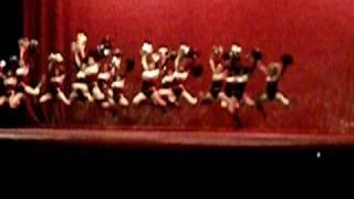 horizon high school dance team stingers flash dance 2010 one more night