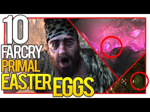 ✔️ 10 Far Cry Primal Easter Eggs (Far Cry Secrets You MUST See)