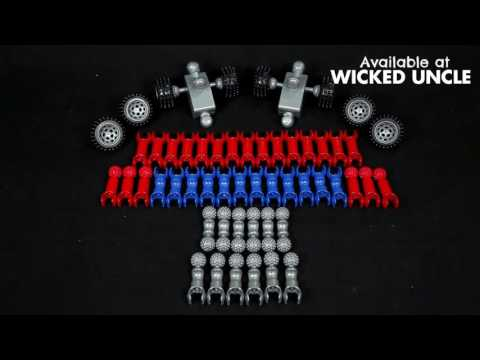Youtube Video for Fastback H2H Racerz - 55 piece set