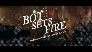 """BOYSETSFIRE - Rookie (""""20th Anniversary Live in Berlin"""")"""