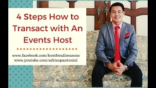 Emcee: How to Transact With A Professional Event Host