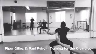 Piper Gilles & Paul Poirier - In studio training sessions with Jeff Dimitriou