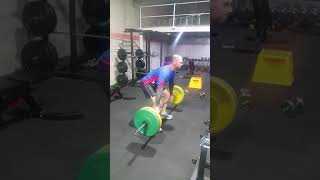 Andrew First Ever Deadlift Session