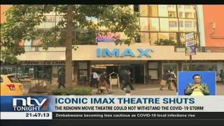 IMAX's equipment including retractable seats, projectors, TV sets