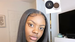 HOW TO: QUICK AND EASY EYEBROW TUTORIAL | | Anastasia Beverly Dipbrow Chocolate | BEGINNER FRIENDLY