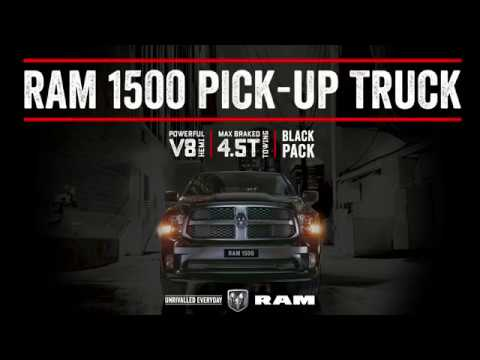 YouTube Video of the RAM 1500 EXPRESS BLACK PACK
