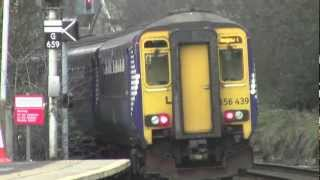preview picture of video '156 430 & 156 439 arrives into Giffnock'