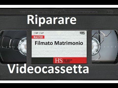 Riparare una videocassetta by Paolo Brada DIY