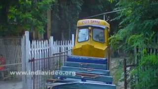 Toy train at Gandhi Hill, Vijayawada