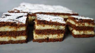 Bardzo tanie ciasto! Bardzo pyszne ciasto! Jak zrobić ciasto Mannowiec #TanieCiasto