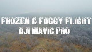 DJI Mavic Pro - Frozen & Foggy Flight