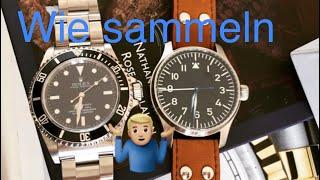 4 Arten Uhren zu sammeln