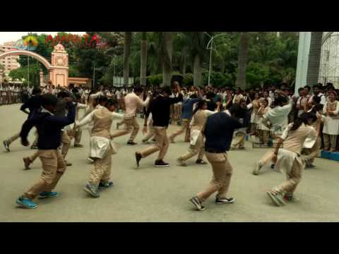 SLACK flash mob 2015 @ amrita Bangalore