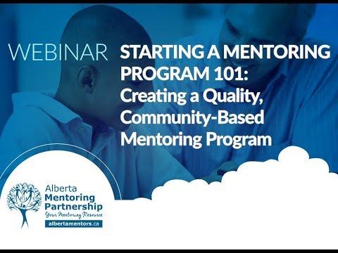 , title : 'Starting a Mentoring Program 101: Creating a Quality, Community-Based Mentoring Program