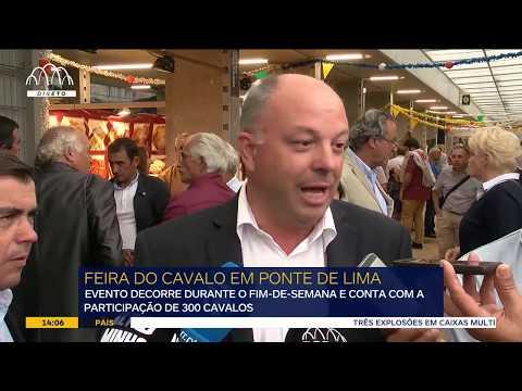 Feira do Cavalo de Ponte de Lima junta centenas de cavaleiros de várias nacionalidades  Em Ponte ...