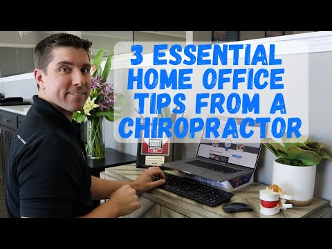 3 Essential Home Office Tips