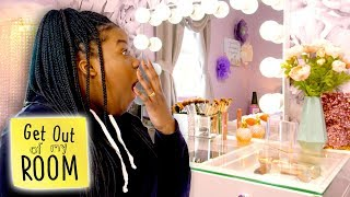 Teen Turns Room Into Makeup Studio | Get Out Of My Room | Universal Kids