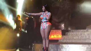 Hard White   Nicki Minaj Live In Brazil São Paulo At Tidal Vivo Event Credicard Hall