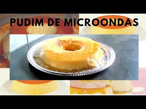 Como fazer Pudim de microondas em 10 minutos. (Muito fácil)|preto na cozinha
