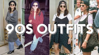 Recreating 90's Celebrities Street Style Outfits! | Ep. 1