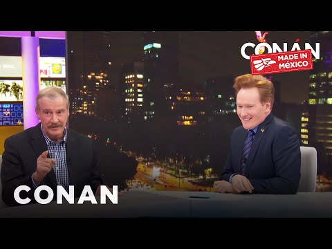 Conan v Mexiku #4: Bývalý prezident a fotbal v parku