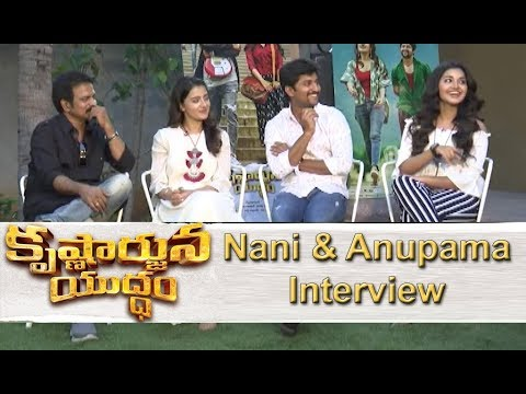 Krishnaarjuna Yuddham Team Interview