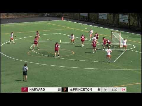 Highlights: Women's Lacrosse vs Harvard - 4/13/19