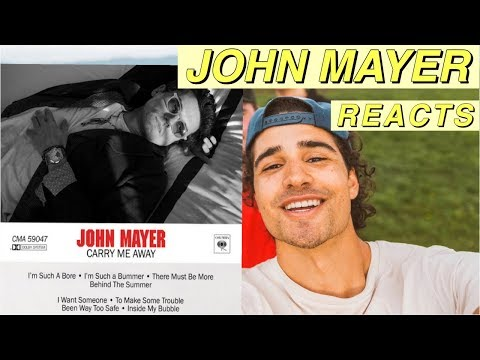 """John Mayer - Carry Me Away REACTION! 
