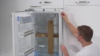 Inbouw koelkast: Deur op deur montage