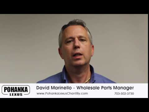 Wholesale Parts Manager David Marinello