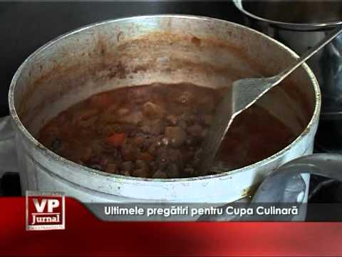 Ultimele pregătiri pentru Cupa Culinară Mondială