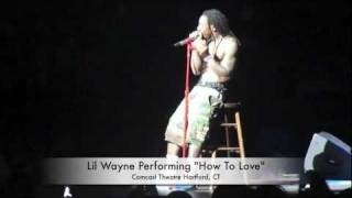 Lil Wayne - How To Love (Live Concert Performance)