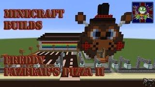 Minecraft Builds Episode 20 - Freddy Fazbear's Pizza v.2