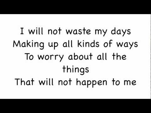 Living In The Moment by Jason Mraz (Lyrics)