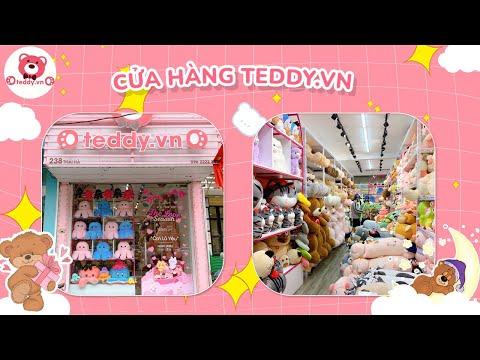 Shop Gấu Bông Teddy nổi nhất đường Thái Hà