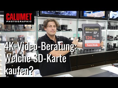 Welche SD-Karte für 4K Ultra HD kaufen?