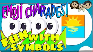 Emoji Charades #1 : FUN WITH SYMBOLS | Let's Play Emoji Charades