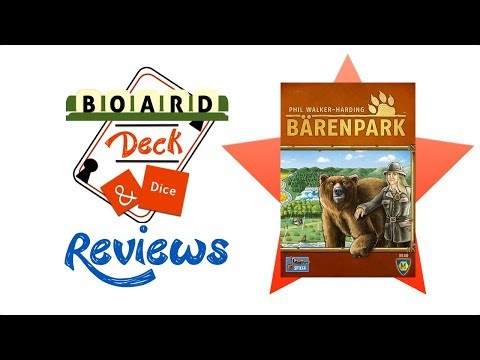 Board, Deck & Dice Review #136 - Barenpark