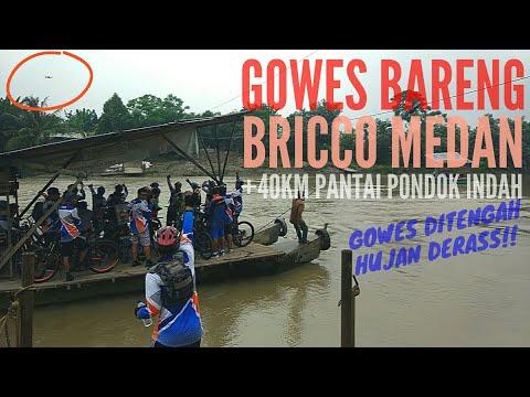 Gowes Bareng BRI Kanwil Medan | Jelajah Lubuk Pakam - Pantai Cermin | 2018