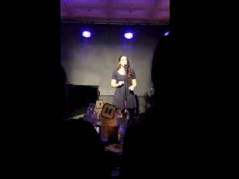 "Vanessa sings ""Moments in the Woods"" from Into the Woods"