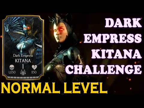 Download Dark Empress Kitana Challenge (Normal Difficulty). Mortal Kombat X Mobile HD Video