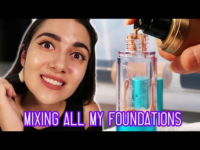Mixing All My Foundations Together