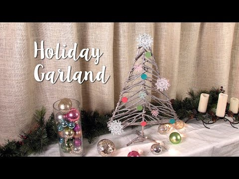 How to Make this Holiday Garland