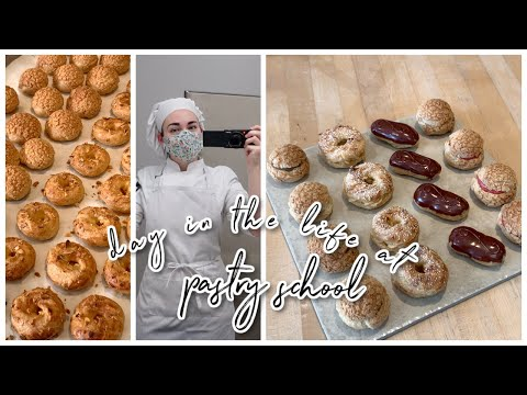 what a day in pastry school looks like   VLOGMAS DAY 1