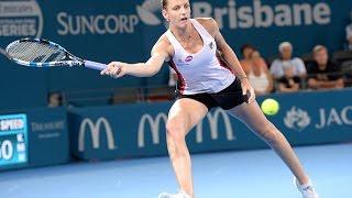 2017 Brisbane International Semifinals | Karolina Pliskova vs Elina Svitolina  | WTA Highlights
