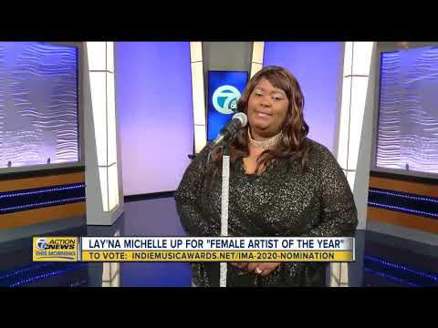 "Detroit's Lay'Na Michelle up for ""Female Artist of the Year"""